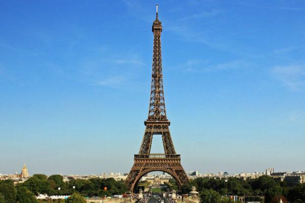 Popular tourist destinations in Paris