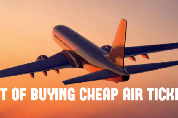 Tips to buy cheap air tickets