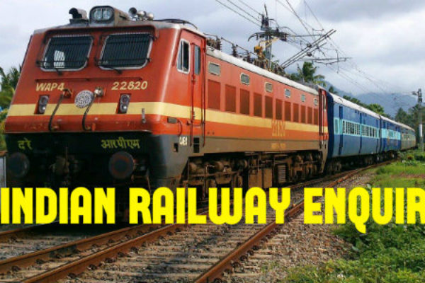 Indian railway enquiry on mobile