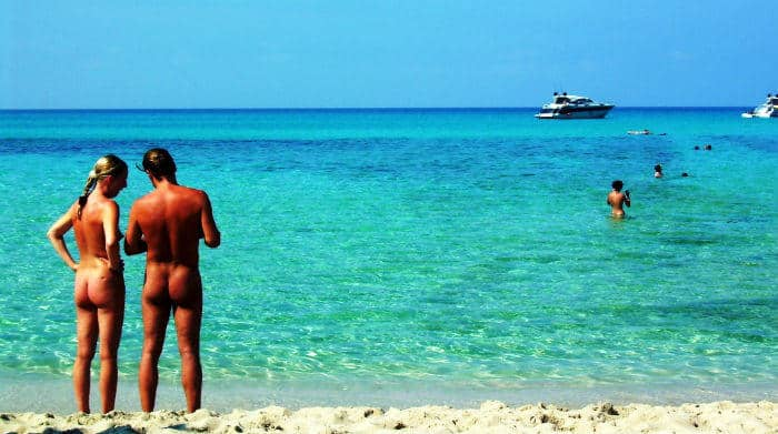 Es trenc Majorca in Spain is one of the best nude beach in the world