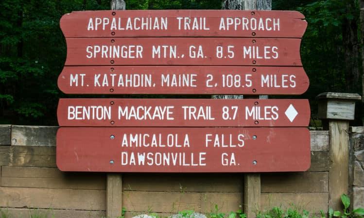 Benton MacKaye Hike Trail