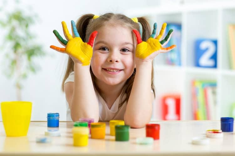 Child care in resort