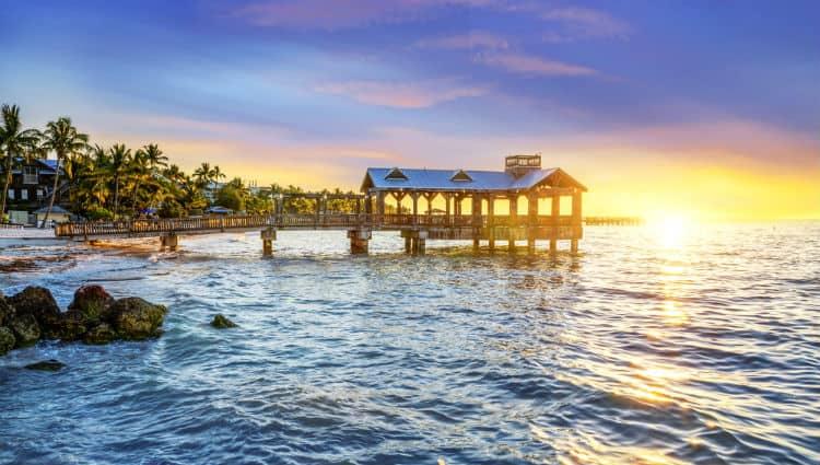 Romantic Key West. Florida