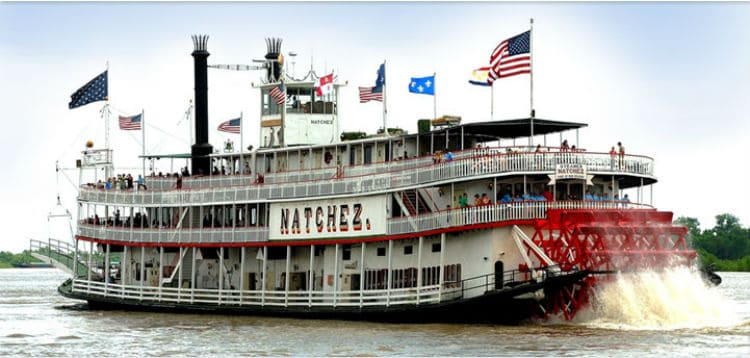 Valentine's Day Dinner Cruise in New Orleans