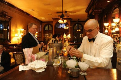 Valentine's Day visit to French 75 Bar New Orleans