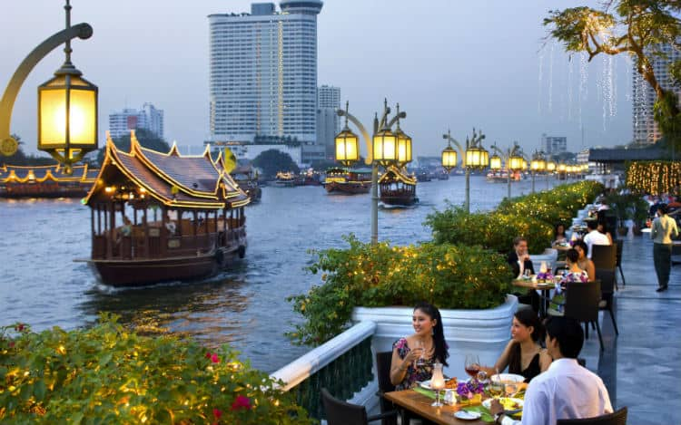 Most romantic place in Bangkok