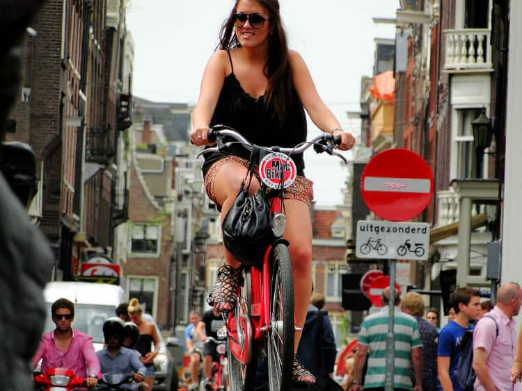 Netherlands is safe country for solo woman travelers