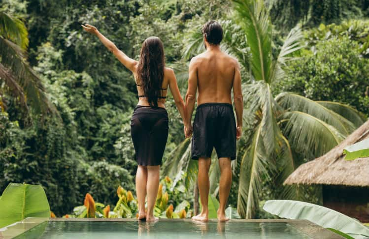 Take girlfriend to Bali for holiday