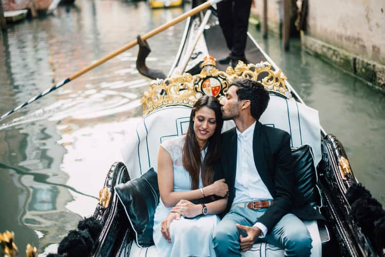 Venice is most romantic place for partner