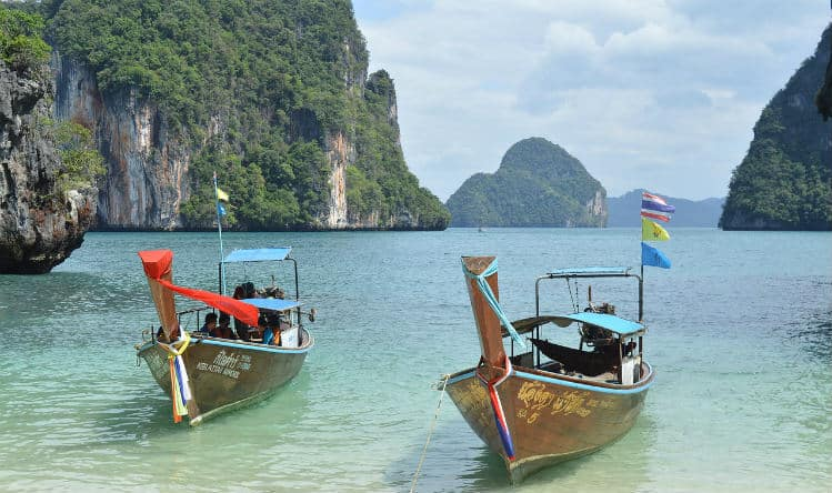 Safe solo holiday in Thailand