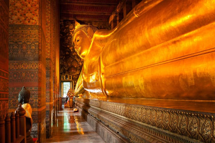 Wat Pho - temple of reclining Buddha, Bangkok
