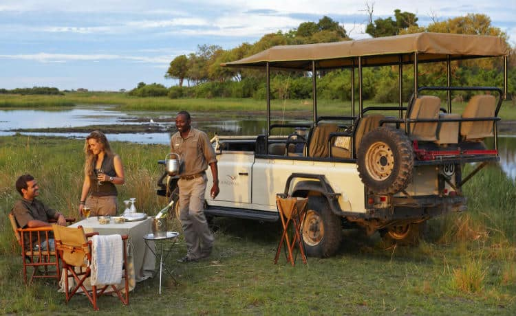 African honeymoon in Botswana, Africa