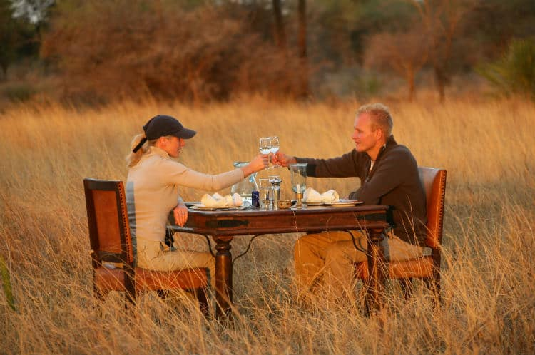 African honeymoon in Tanzania Africa