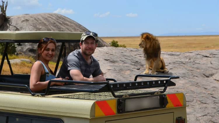 African honeymoon in Kenya, Africa
