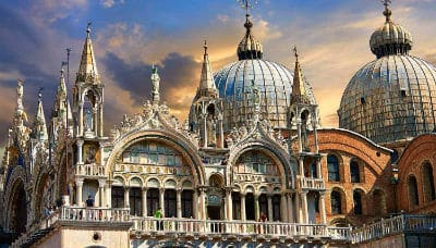 Visit St Marks Basilica on Valentine's Day