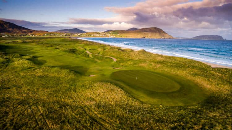 Old Links Golf course at Ballyliffin Club