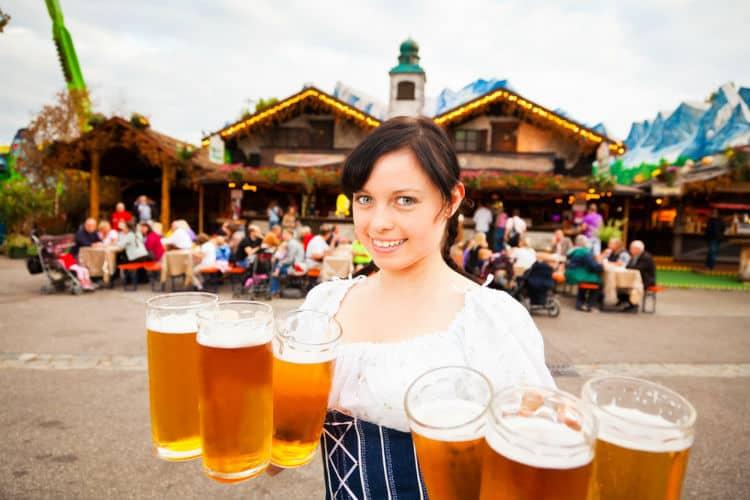 STUTTGART beer festival at Cannstatter