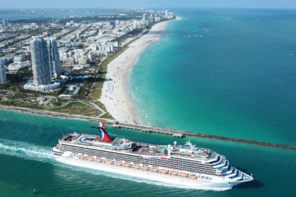 Cruise departing from Miami, Florida