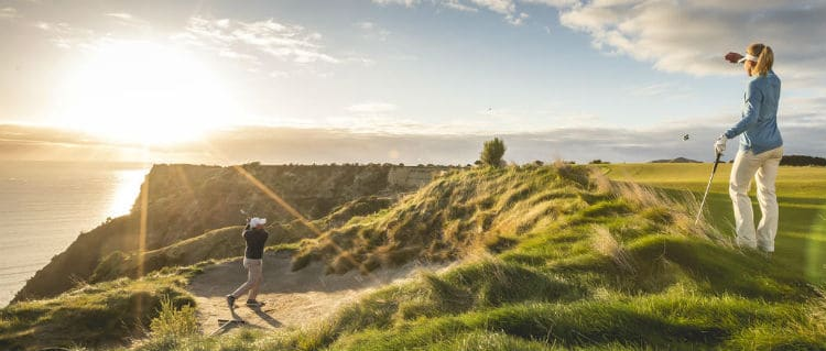 Golf holidays in New Zealand