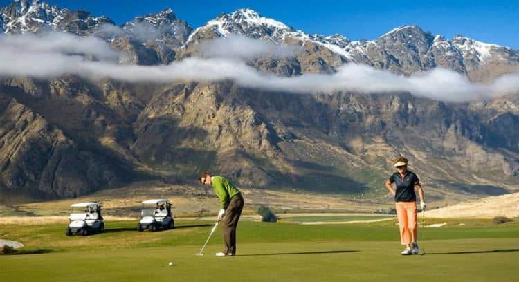 Jack's Point Golf Course, New Zealand