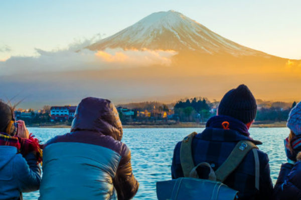 Mount Fiji - holiday in Japan