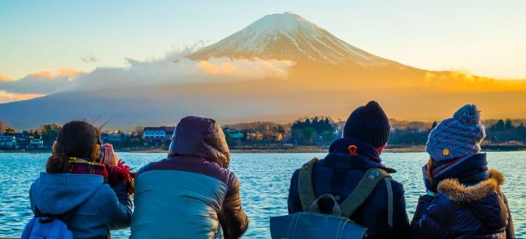 Mount Fiji - holiday in Japan