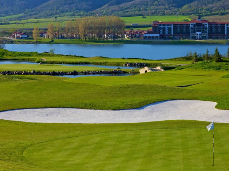 Pravets Golf course, Bulgaria