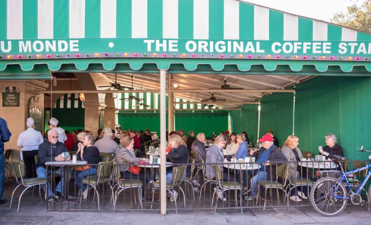 Visit Cafe Du Monde on Valentines Day