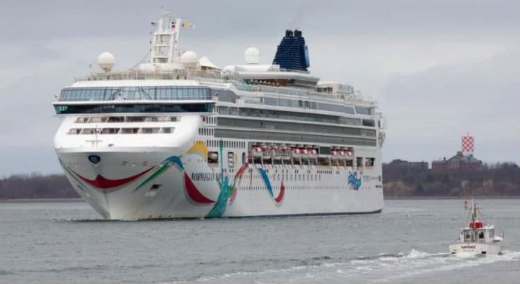 Norwegian Dawn in Boston