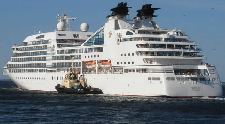 Seabourn Sojourn in Los Angeles