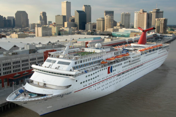 Carnival Fantasy at New Orleans