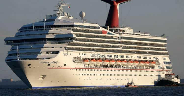 Carnival Triumph Side View