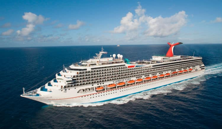 Carnival Valor at New Orleans