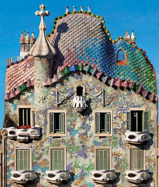 Casa Batllo Facts Gaudi S Batllo House In Barcelona