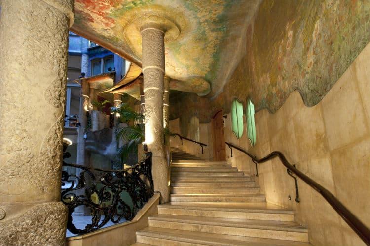 Casa Mila's staircase