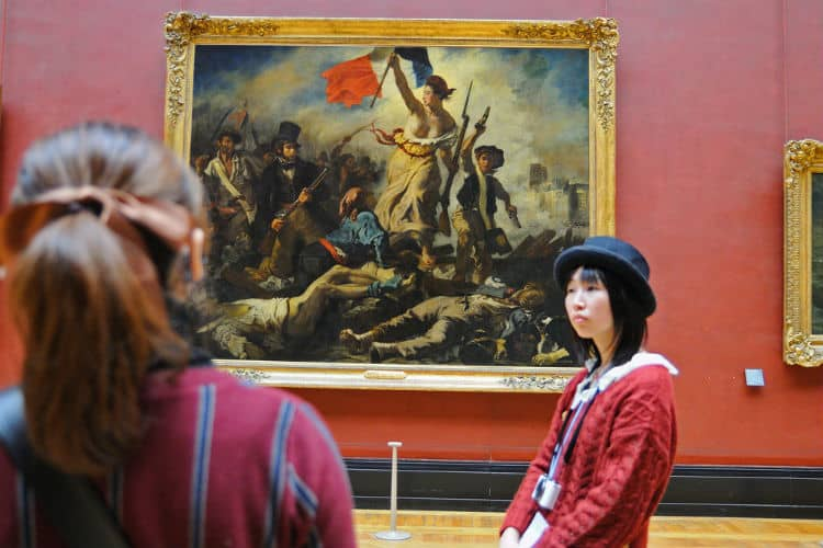 Liberty Leading the People in Louvre Museum