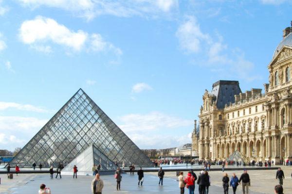 Louvre Museum in Paris, France
