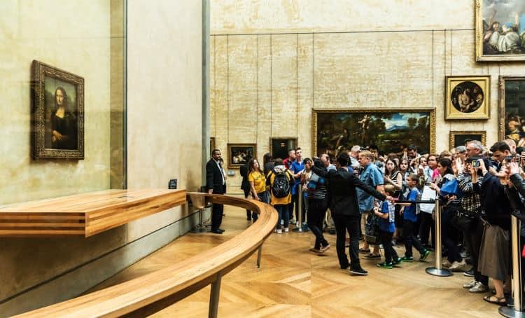 Mona Lisa in Louvre Museum