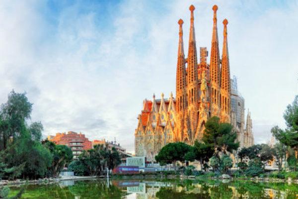 Sagrada Familia towers