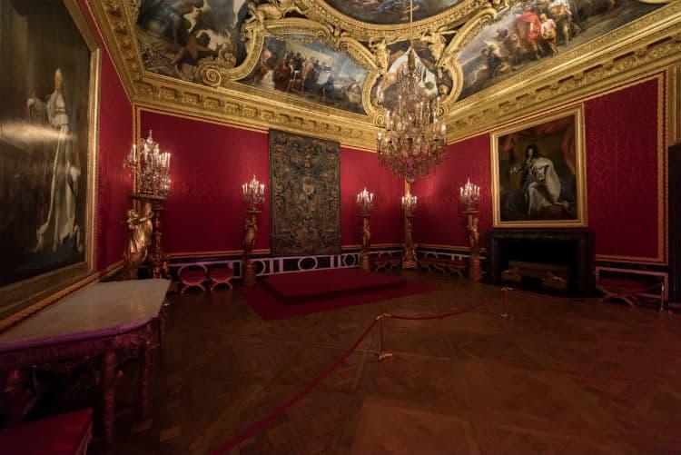 Apollo Room at Versailles Palace
