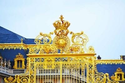 Golden Gate of Palace of Versailles