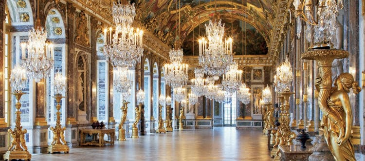 Palace of Versailles interior - inside images and videos