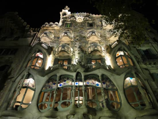 House of Bones at night