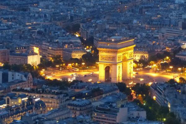 Arc De Triomphe facts